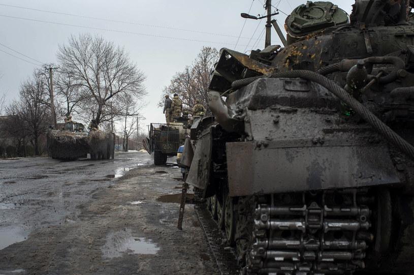 Sytuacja na Ukrainie jest bardzo napięta /AFP