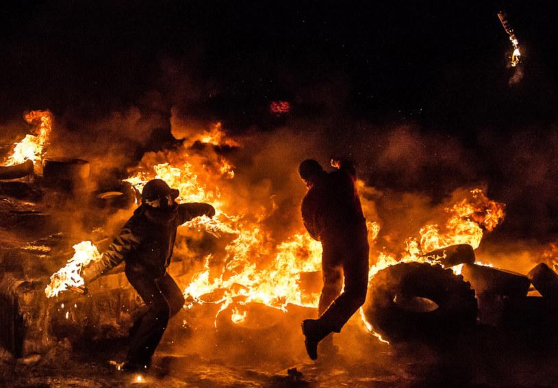 Sytuacja na Ukrainie wciąż jest napięta, obawiają się wprowdzenia stanu wyjątkowego /AFP