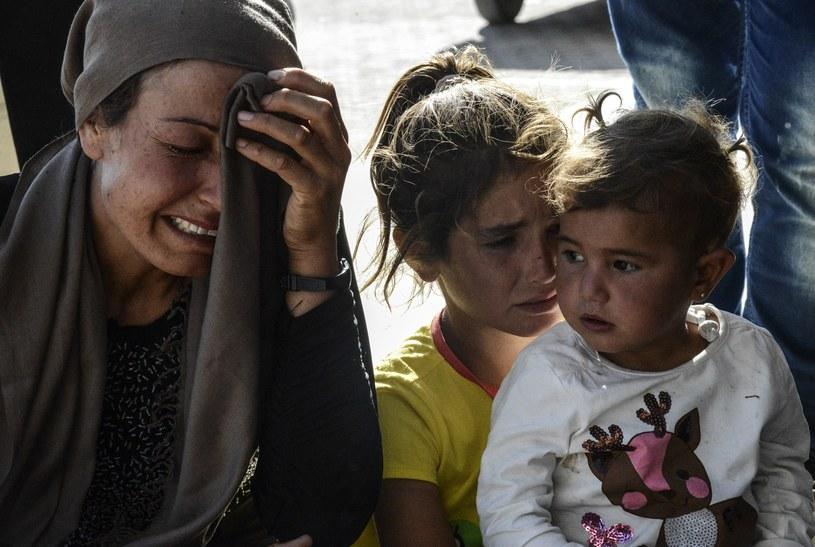 Sytuacja w Kobane jest dramatyczna /AFP