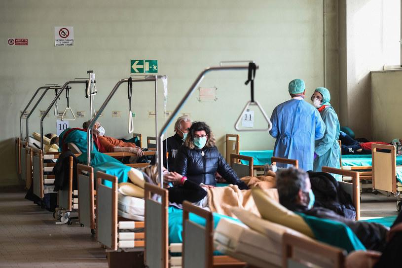 Sytuacja w Lombardii jest najtrudniejsza /Matteo Biatta/Sintesi/SIPA /East News