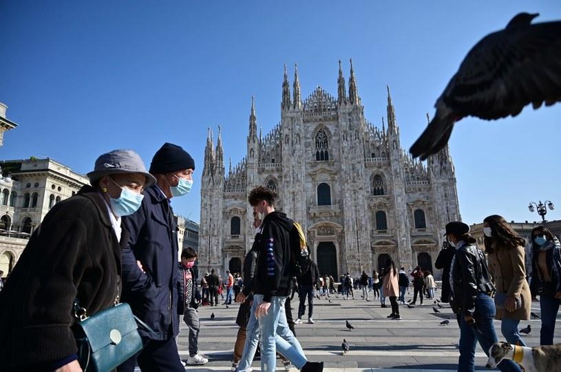 Sytuacja w Lombardii jest wyjątkowo trudna. Biznesmeni protestują. /AFP