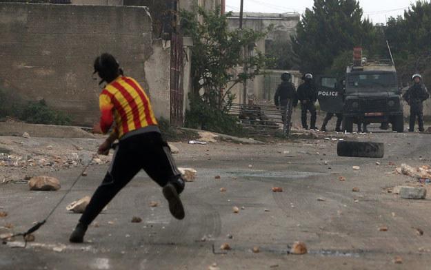 Sytuacja w Palestynie jest bardzo napięta fot. Jaafar Ashtiyeh /AFP