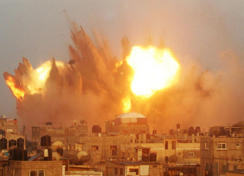 Sytuacja w Strefie Gazy jest bardzo napięta /AFP