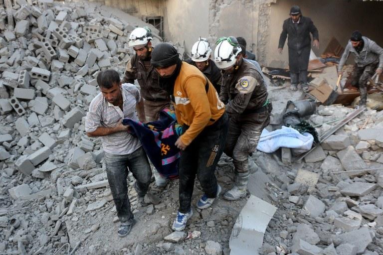 Sytuacja w Syrii jest dramatyczna /AFP