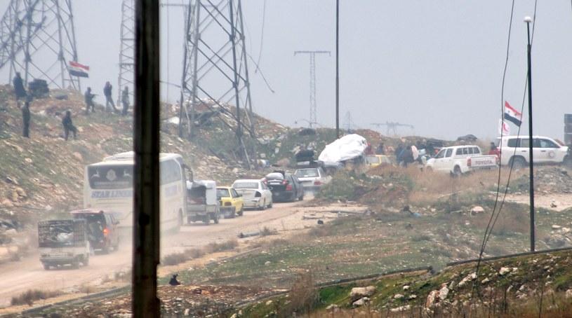 Sytuacja w Syrii jest dramatyczna /PAP/EPA