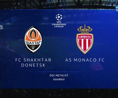 Szachtar Donieck - AS Monaco 2:2. Skrót meczu (POLSAT SPORT) Wideo
