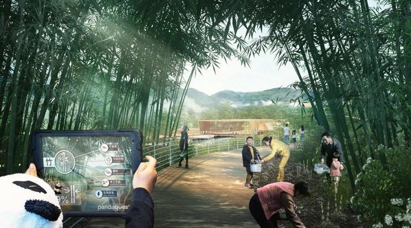 Szacuje się, że park będzie odwiedzać 20 mln ludzi rocznie /materiały prasowe