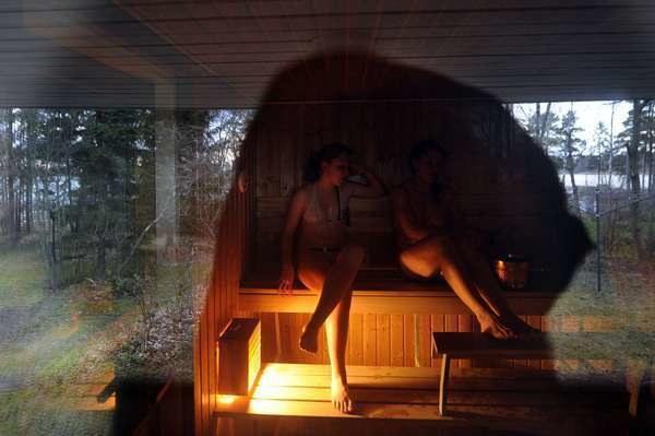 Szacuje się, że w Finlandii - kraju zamieszkanym przez nieco ponad 5,5 mln osób - są ponad 3 mln saun /AFP