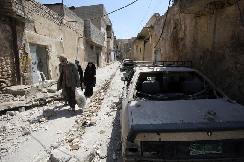 Szacuje się, że w Mosulu wciąż przebywa ok. 100 tys. mieszkańców /AHMAD AL-RUBAYE / AFP /AFP