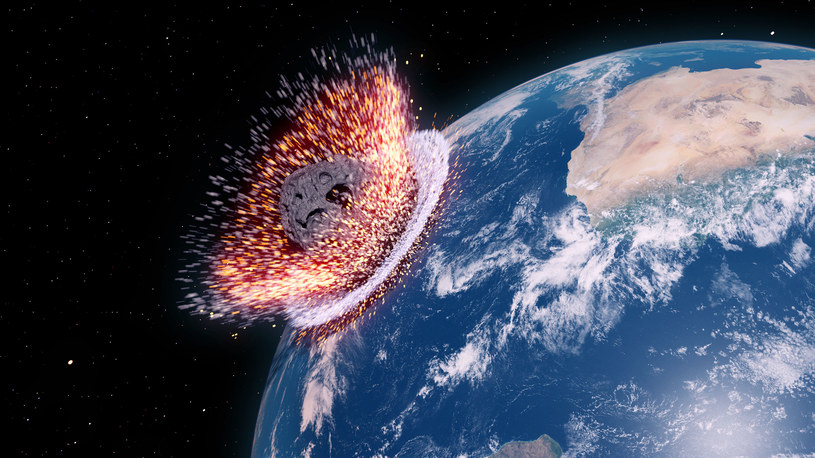 Szacunki wskazują, że zostało nam jeszcze ok. 180 mln lat przed uderzeniem kolejnej asteroidy /123RF/PICSEL