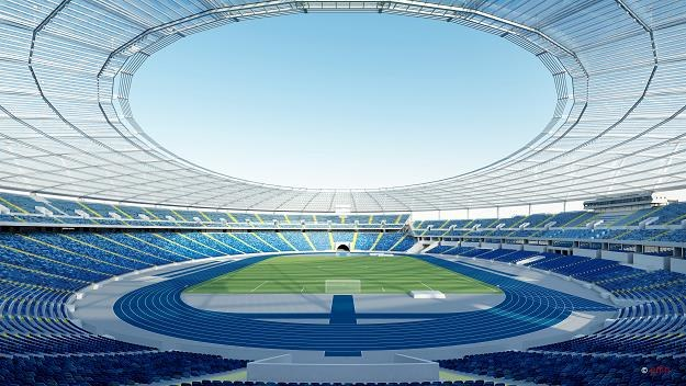 Szacunkowy koszt całego zadania budowy zadaszenia stadionu wynosi ok. 586 mln zł /Informacja prasowa