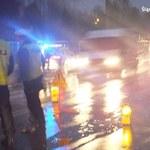 Szaleńczy rajd 37-latka: Uciekał policji przez trzy miasta
