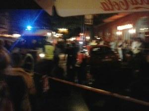 Szaleniec wjechał rozpędzonym samochodem na molo w Sopocie