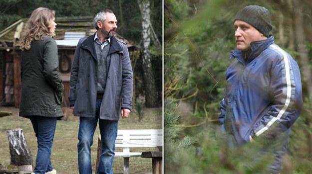 Szaleniec znajdzie kryjówkę w lesie, tuż obok siedliska i z ukrycia zacznie Annę obserwować /www.mjakmilosc.tvp.pl/