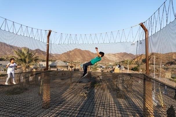 Szaleństwo na trampolinach wśród niesamowitych widoków to przeżycie, które zapadnie w pamięć nie tylko najmłodszym /materiały prasowe