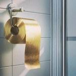 Szaleństwo! Powstał papier toaletowy ze złota