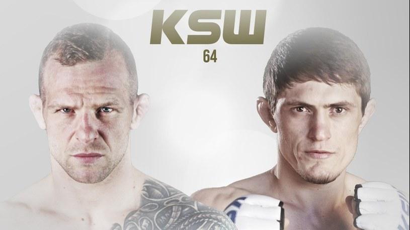 Szamil Musajew (z lewej) i Michał Pietrzak spotkają się na KSW 64 /KSW /