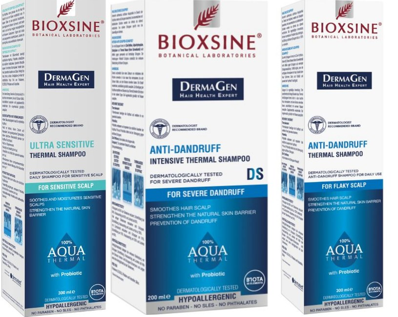 Szampony z wodą termalną – nowość od Bioxsine /materiały prasowe