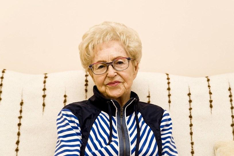 Szanowna jubilatka Helena Pilejczyk kończy 90 lat. Sto lat! /Stanisław Bielski /Newspix