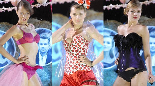 Szanse na zwycięstwo w drugiej edycji show mają Anna Bałon, Michalina Manios i Olga Kaczyńska /AKPA
