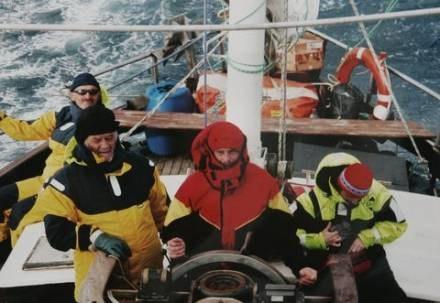 Szanty to święto głównie żeglarzy/fot. M. Nowotyra /Agencja SE/East News