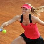 Szarapowa w półfinale turnieju WTA na kortach ziemnych w Rzymie