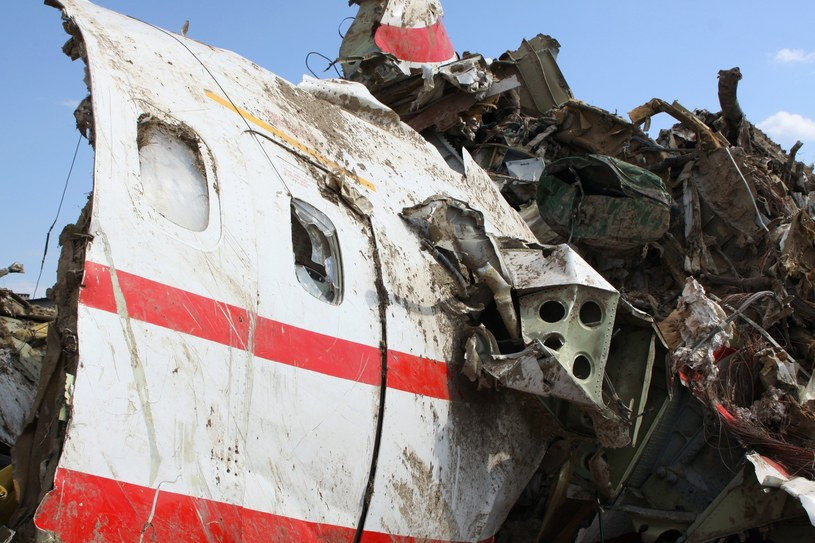 Szczątki prezydenckiego samolotu /RIA Novosti /East News