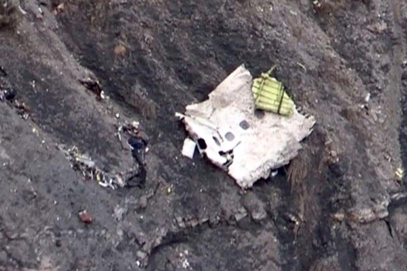 Szczątki rozbitej maszyny /AFP
