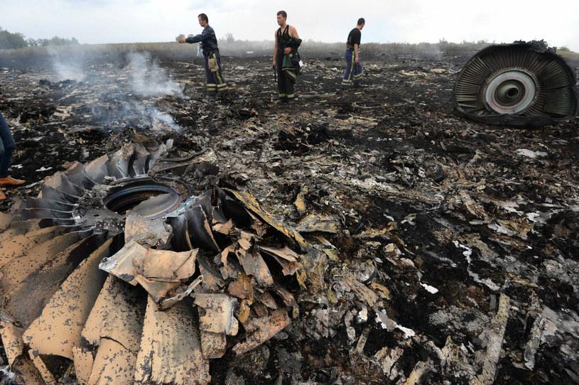 Szczątki samolotu były rozrzucone na przestrzeni 35 kilometrów kwadratowych /RIA Nowosti /East News