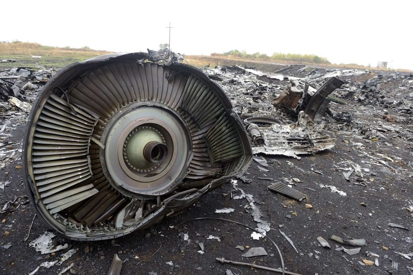 Szczątki samolotu Malaysia Airlines /AFP