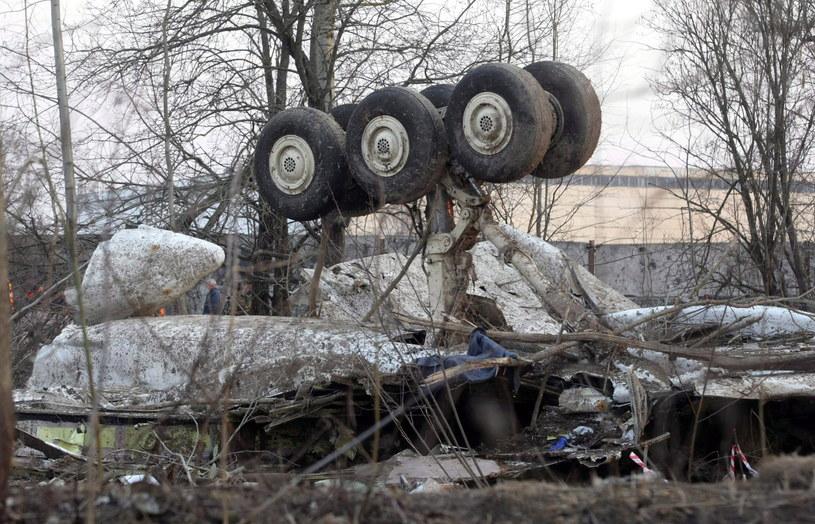 Szczątki Tu-154/ PAP/SERGEI CHIRIKOV /PAP