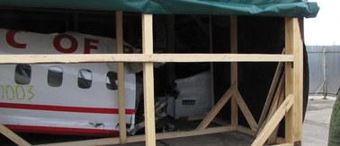 Szczątki tupolewa trafiły do brytyjskiego laboratorium. Badanie potrwa do 6 miesięcy