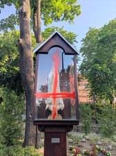 Szczecin: Figury Matki Boskiej pomalowane farbą. Policja prowadzi dochodzenie