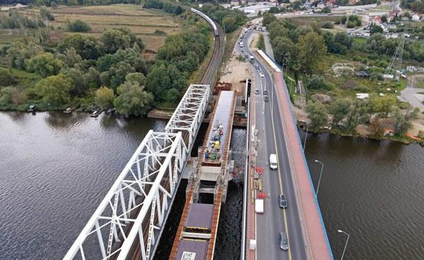 Szczecin: Kończy się budowa nowego mostu