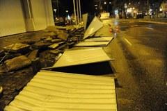 Szczecin: Wichura połamała drzewa