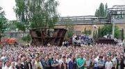 Szczecin: Zakończył się marsz milczenia stoczniowców