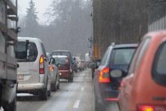 Szczecin zmaga się z zimą