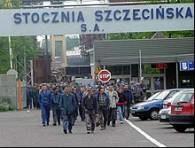 Szczecińscy stoczniowcy od trzech miesięcy nie dostają pensji /RMF
