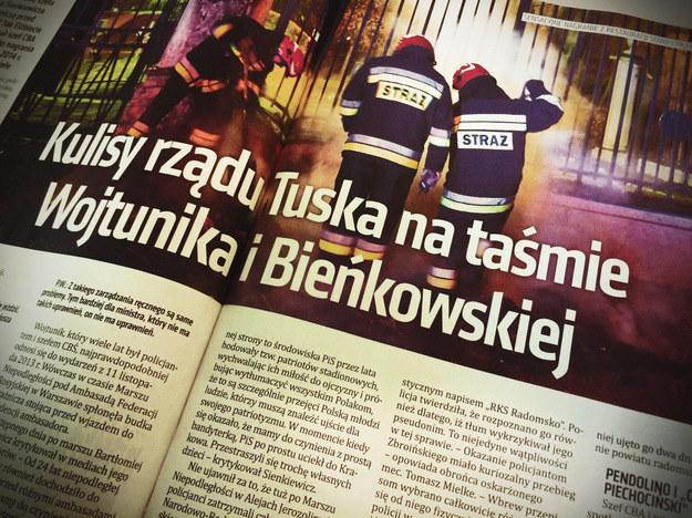 """Szczegóły i fragmenty nagrania w najnowszym wydaniu tygodnika """"Do Rzeczy"""" /"""