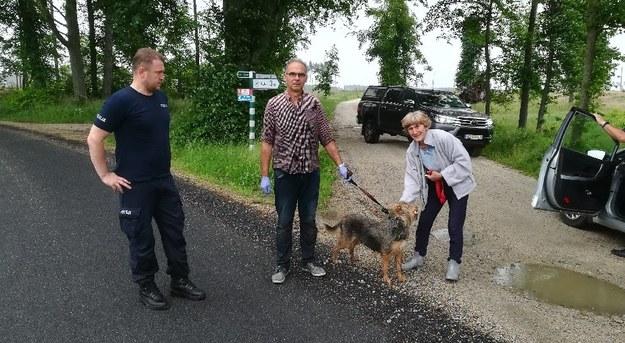 Szczekanie psa zaalarmowało okolicznych mieszkańców /Policja