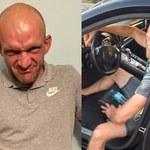 """""""Szczena"""" z """"Chłopaków do wzięcia"""" zatrzymany przez policję! Pobił partnerkę i dziecko"""