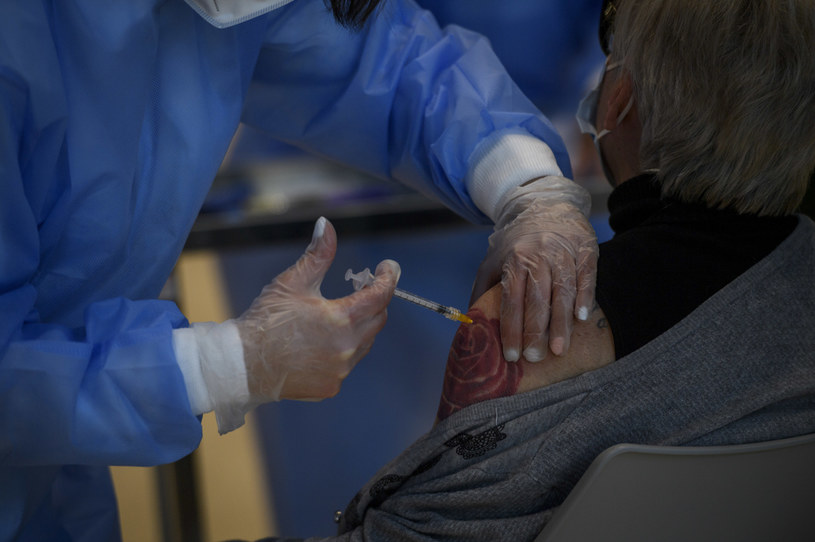 Szczepienia preparatem firmy AstraZeneca /Antonio Masiello /Getty Images