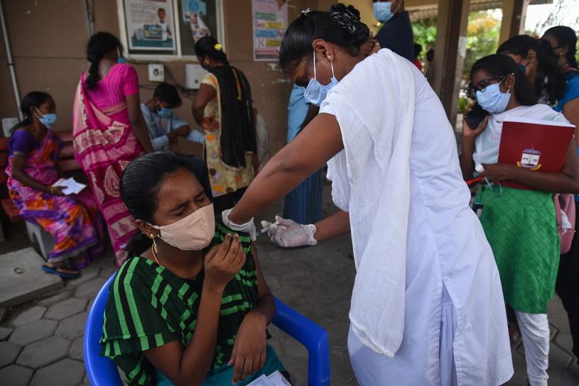 Szczepienia w Indiach/Zdj. ilustracyjne /IDREES MOHAMMED /PAP/EPA