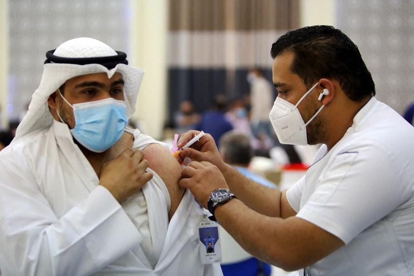 Szczepienia w Kuwejcie /AFP