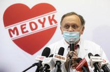 Szczepienia w Rzeszowie. Prof. Parczewski: To nie jest fair. Niezaszczepione osoby będą umierać
