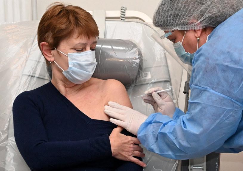 Szczepienie preparatem AstraZeneca; zdj. ilustracyjne /AFP