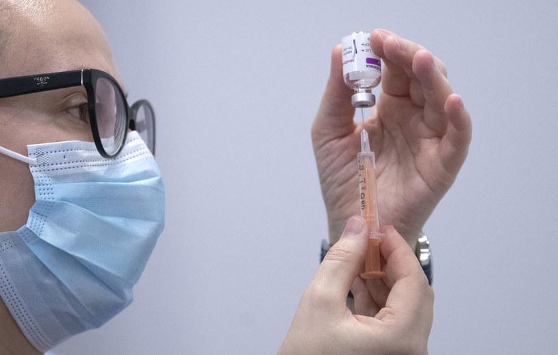 Szczepionka AstraZeneca/ zdjęcie ilustracyjne / Jane Barlow /AFP