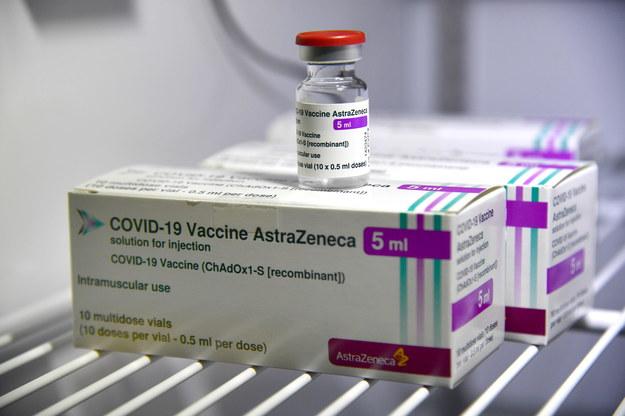 Szczepionka firmy AstraZeneca /LUCA ZENNARO /PAP/EPA