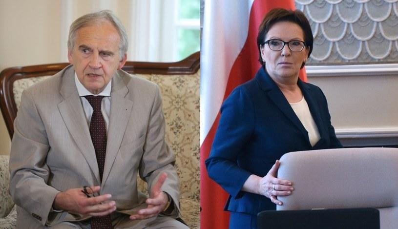 Szczerski: Ewa Kopacz i minister Zembala do dymisji /Andrzej Czerwiński/Leszek Szymański /PAP