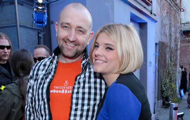 Szczęśliwi rodzice - Ania Dąbrowska i Paweł Jóźwicki, fot.Paweł Przybyszewski  /MWMedia